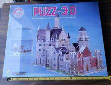 NEW 1991 WREBBIT PUZZ 3D BAVARIAN CASTLE PUZZLE FACTORY SEALED