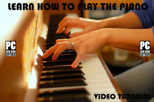 Learn how to play the Piano lessons on dvd tutorial teach 087