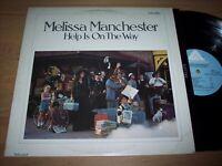 VG+ 1976 Melissa Manchester Help Is On The Way LP Album