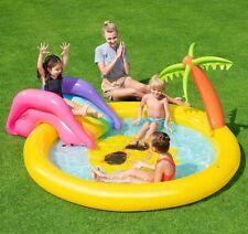 Piscina hinchable para niños con tobogán pulverizador de agua + accesorios