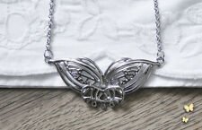 Arwen evenstar butterfly necklace pendant LOTR silver hobbit