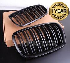 FAST EMS x2 TWIN SLAT MATT BLACK Grills for BMW X5 X5M X6 X6M E70 E71 E72