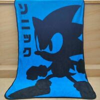 The Hedgehog BLUE fleece Blankets Throws quilt blanket  anime 117x152cm