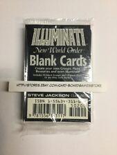 ILLUMINATI NEW WORLD ORDER Blank Card Booster Pack CCG TCG INWO Steve Jackson