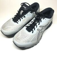 ASICS Mens Gel-Kayano 25 Gray Running Shoes Size 10.5 (1011A023) Extra Wide