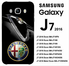 COVER 3D ALFA ROMEO for SAMSUNG J7 2016 CASE 139