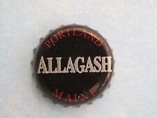 BEER Bottle Crown Cap ~ ALLAGASH Brewing Black Belgian Style Stout ~ Portland ME