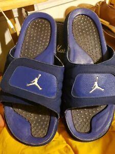 Nike Jordan Hydro12  Retro Deep royal blue  Slides  Size - 11  still nice shape