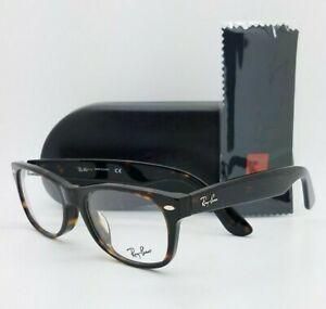 NEW Rayban Rx Eyeglasses Frame RX5184F 2012 52mm Dark Tortoise 5184F AUTHENTIC
