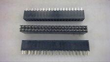 SAMTEC SQT-115-01-L-D 30-Pin 2mm Dip Connector New Lot Quantity-3