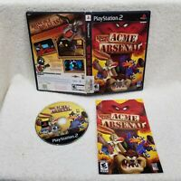 Looney Tunes: ACME Arsenal CIB Sony Playstation 2 PS2 Complete Cleaned Tested!!