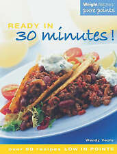 """NEW"" Weight Watchers Ready in 30 Minutes!: Over 60 Recipes Low in Points, Veale"