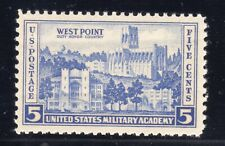 US STAMP #789 5c ARMY/NAVY — XF - MINT - GRADED 90