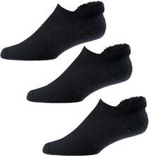 (3) PAIR NEW FootJoy Mens ComfortSof Roll Top Golf Socks, BLACK, Size 7-12