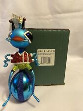 Slavic Treasures Gentleman Ant '99 Blown Glass Christmas Ornament, Poland