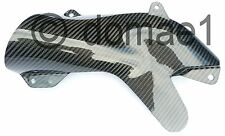 Kawasaki ZX10R carbon fiber heat shield 2006-2007 exhaust protector cover Ninja