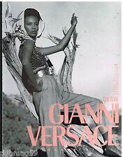 Publicité Advertising 1990 Haute couture Gianni Versace