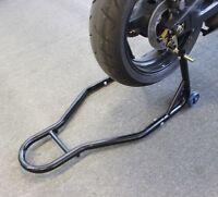 Black Heavy Duty Motorcycle Motorbike Paddock Bike Rear Racing Lift Stand