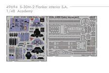 Eduard PE 49694 1/48 Sukhoi S-30MK2 Flanker Interior Academy C