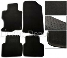 FIT FOR 2001-2005 HONDA CIVIC 2 / 4 DOOR & Si HATCHBACK BLACK FLOOR MATS CARPET