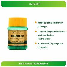 2 X Dr. Vaidya's Herbofit  Goodness of Chywanprash | Immunity + Energy | 30 Caps