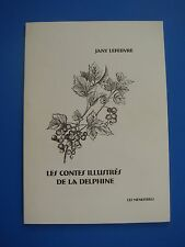 JANY LEFEBVRE - LES CONTES ILLUSTRES DE LA DELPHINE - 1998 - DEDICACE -MENESTREL