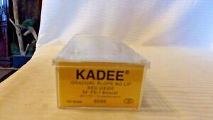HO Scale Kadee, 50' Box Car, Undecorated, Red Oxide, #6099 BNOS