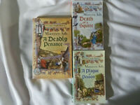 THREE (3) MAUREEN ASH paperbacks in TEMPLAR KNIGHT MYSTERIES