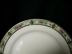 9 assiettes à dessert  porcelaine de Limoges William Guerin