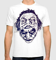 Joker T-Shirt Men's Women's DC Comics Jack Nicholson Heath Ledger Combo Tee