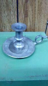 Vintage CCC Pewter Candlestick Holder Meriden Conn