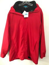 Tri-Mountain 3 in 1 Hooded Parka Fleece Jacket L Windproof & Water Resistant NWT