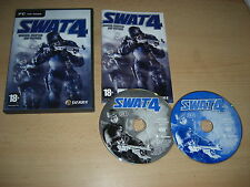 SWAT 4 Pc Cd Rom  S.W.A.T. Special Weapons And Tactics  - FAST POST