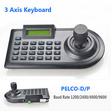 3D 3 Axis PTZ Joystick Controller RS485 PELCO-D/P W/LCD Display For Speed Camera