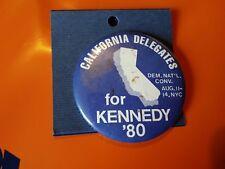 USA political badge california for for Kennedy '80