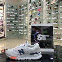 New Balance 997 Bianco Blu Pesca  Sneakers Sportive Casual running casual