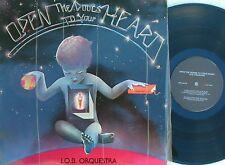 J.O.B. Orquestra Rare OZ LP Open the doors to your heart NM '78 Modern soul