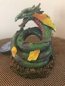 Exotic Environments Coiled Sea Serpent Aquarium/Terrarium Decoration *NIB*