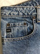 ON SALE! Ikeda 700 Series Sz29 Jeans Button Fly Baggy Vtg High Denim W31 L33