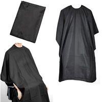 BARBERS HAIR CUT/CUTTING HAIRDRESSING SALON BARBER GOWN CAPE BLACK 140 x 90