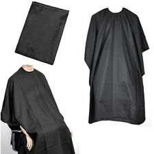 BARBERS HAIR CUT/CUTTING HAIRDRESSING SALON BARBER GOWN CAPE BLACK 140 x 90
