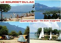 Alte Postkarte - Le Bourget du Lac - Camping de l'ile aux cygnes