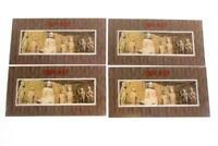 1993-13 China 4 Souvenir Sheets Longmen Grottos MNH Overprints