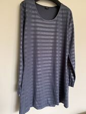 Sandwich Ladies Shirt Grey Silver Dress XL