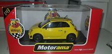 Fiat 500 abarth tributo ferrari gialla 1/43 motorama 1:43