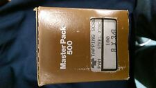 #8 X 3/8 Tapping Screw, Slotted Head, Master Pack 500