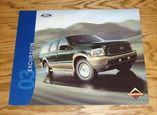 Original 2003 Ford Excursion Sales Brochure 03 XLT Eddie Bauer Limited