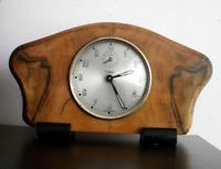 VINTAGE DIEHL alarm mantel clock desk GERMANY