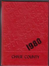 1980 Chase County High School Year Book, Cottonwood, Kansas