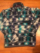 Patagonia Synchilla Aztec print fleece pullover Mens S jacket sweater abstract